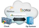 cloud of op kantoor