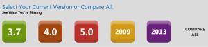 Vergelijken NAV 2013 en oudere versies